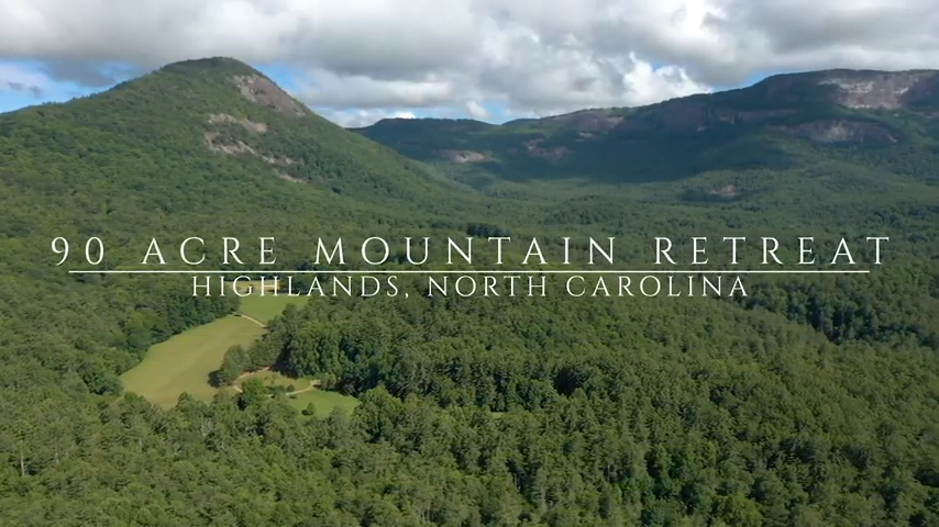 90 Acres of Mountain Land for Sale Highlands NC