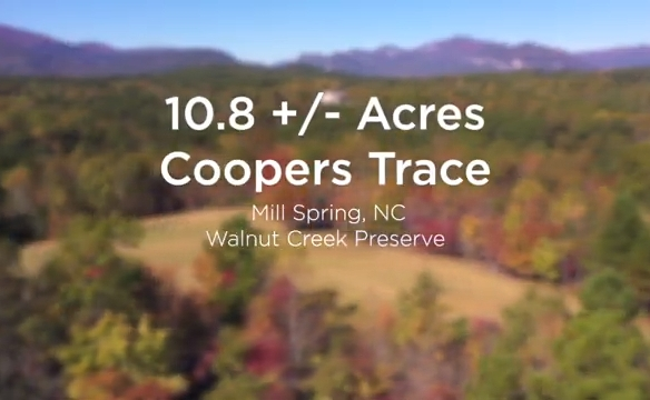 10.8 acres of conservation land for sale in NC