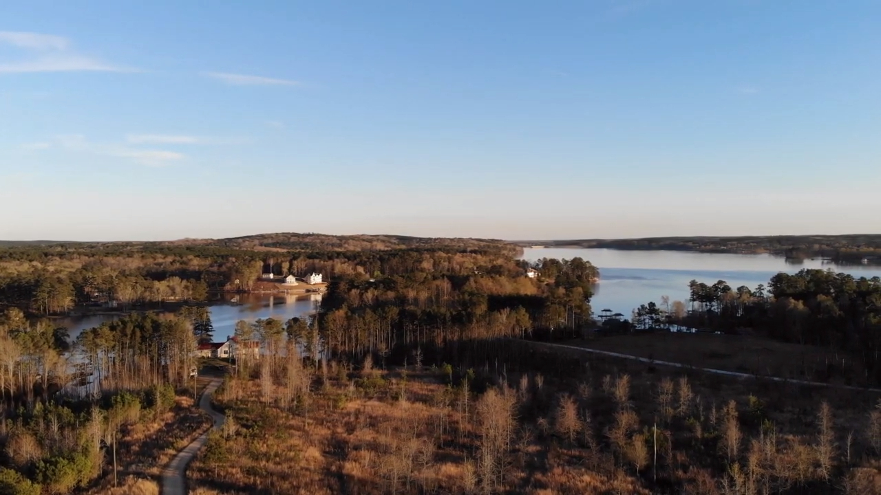Lake Wateree drone footage